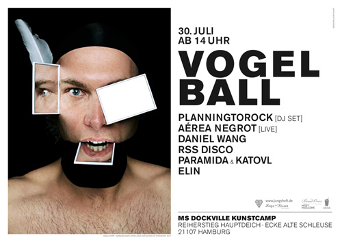 Vogelball Flyer
